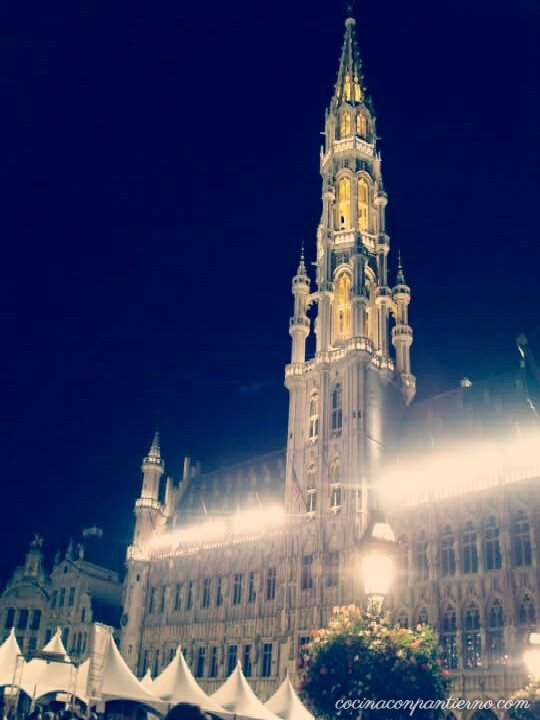 bruselas-grandplace-night